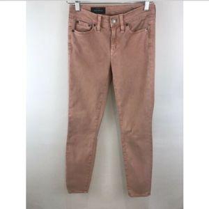 J. Crew Toothpick Pants Jeans Velvety soft! 25x27